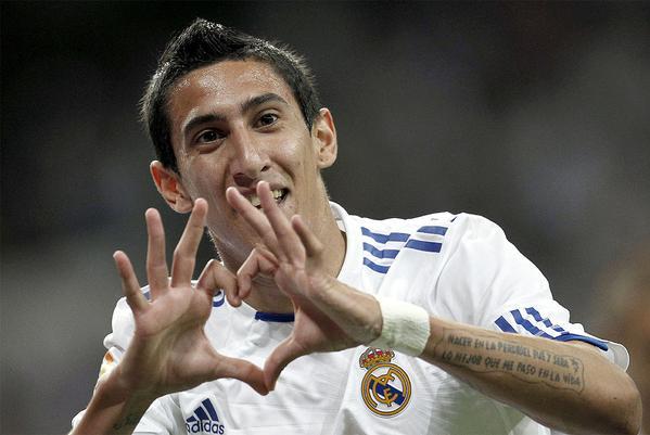 Di Maria révèle pourquoi il a quitté le Real Madrid. Twitter