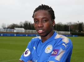 Diabate become's Leicester newest recruit. Twitter/LCFC
