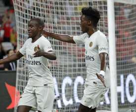 Diaby scored PSG's second of the game. PSG