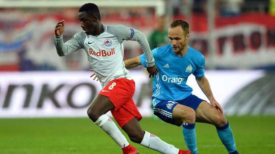 Samassékou est une des révélations de la saison passée. AFP