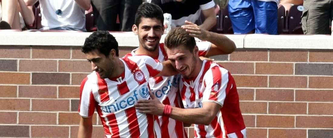 Diamantakos firma hasta mediados del año 2020 con el Bochum. Olympiakos