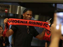 Drogba scored the winner against LA Galaxy. PhoenixRising
