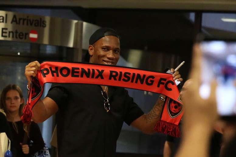 Drogba scored the winner against LA Galaxy. PhoenixRising