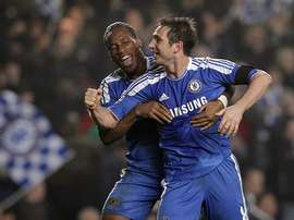 Didier Drogba and Frank Lampard are two of the best Chelsea have ever seen. Twitter