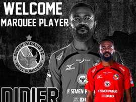 La nueva aventura del exsevillista Didier Zokora. SemenPadangFC