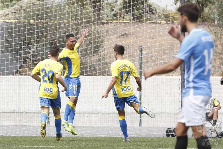 Los errores del Ibiza hacen soñar a Las Palmas Atlético. UDLP_Cantera