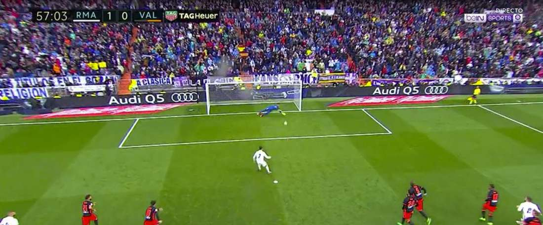 Diego Alves saved another penalty in La Liga. Movistar+