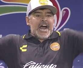 El debut de Maradona no pudo ser mejor. Captura/ESPN