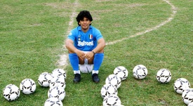 L'ancien président de Naples évoque le transfert de Maradona à l'OM. afp