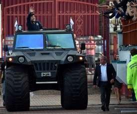 Maradona e sua extensa herança. AFP