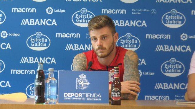 Diego Caballo, intervenido de su nariz. RCDeportivo