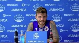 Caballo rescinde con el Dépor y apunta al Extremadura. Twitter/RCDeportivo