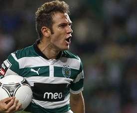 Diego Capel no tiene hueco en el Sporting CP. Twitter