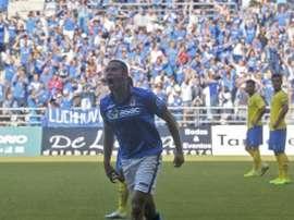 Cervero, el nuevo refuerzo del Mirandés, debutó con el Oviedo. RealOviedo