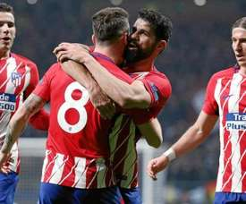 Atletico have not received an offer for either Costa or Saul. EFE