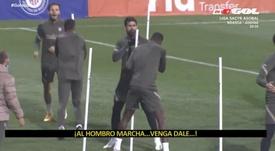 Diego Costa y Kondogbia tuvieron un pasado accidentado. Captura/Twitter/ElGolazodeGol