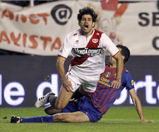 Diego Costa brilló en mis equipos antes de dar el salto al Atléticoy al Chelsea. EFE