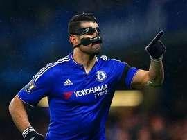 Diego Costa anotó en la goleada del Chelsea al Manchester City. Twitter