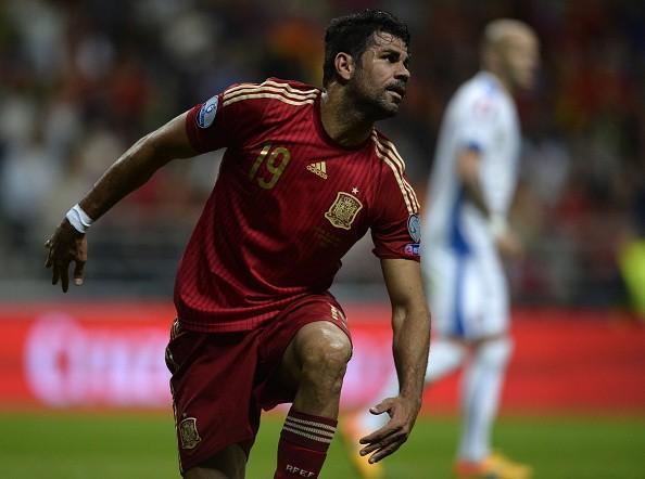 Diego Costa s'en prend à Scolari. EFE