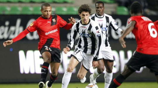 Fabbrini volverá a jugar la Europa League. AFP