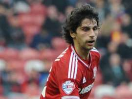 Diego Fabbrini spent time on loan at Middlesbrough. Twitter/Boro