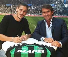 La entidad italiana y el jugador sellaron su compromiso por cinco temporadas más. USSassuolo