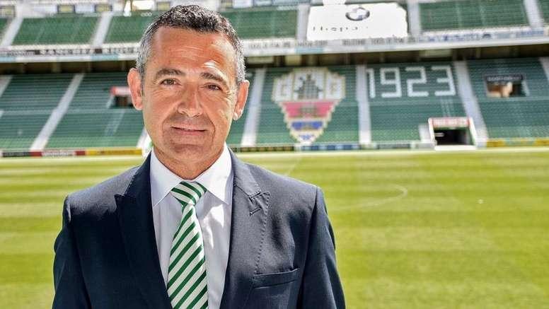 Diego García dimitió. ElcheCF