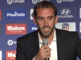 Godín confirmed his departure today. Captura