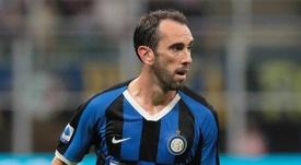 Godin quitte l'Inter. AFP