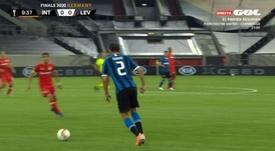 La Europa League, en directo. Gol