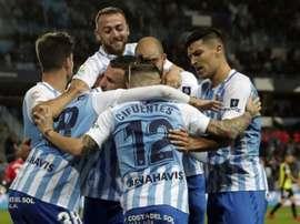 Escobedo y Málaga se vuelven a ver 28 años después. LaLiga