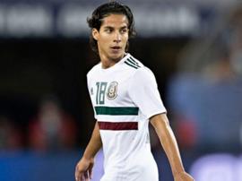 Cecilio Domínguez avisó del peligro de Lainez. AFP