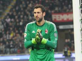 Diego Lopez could grow at another club. AFP