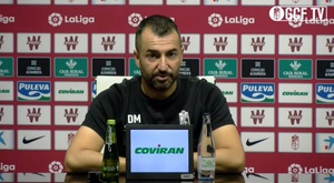 Diego Martínez heaped praise on his rival. Screenshot/GCFTV