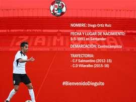 Diego Ortiz ha sido presentado como nuevo jugador del Zamora. ZamoraFC