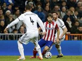 Diego Ribas souhaite le meilleur à son ancienne équipe. EFE