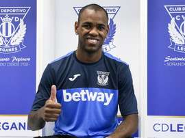El nuevo jugador del Leganés no oculta su deseo. CDLeganés