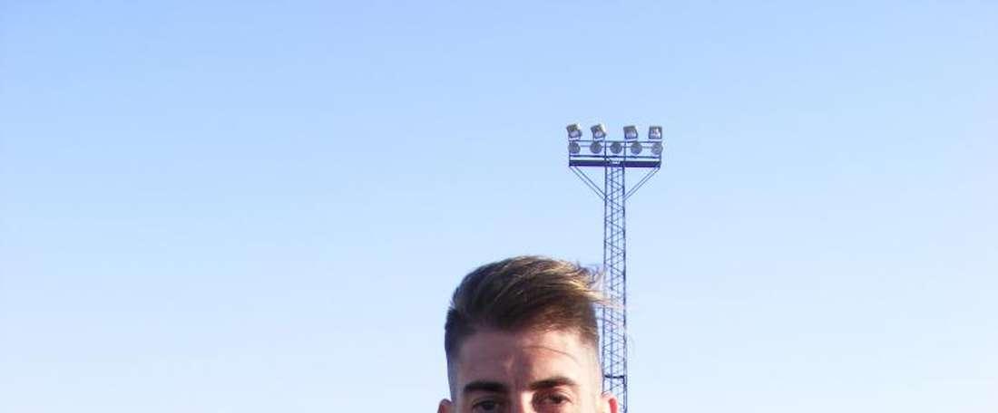 Diego Sánchez Dieguito, nuevo jugador del Socuéllamos. YugUDSocuéllamos