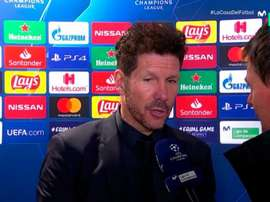 Simeone parla del calcio italiano. Movistar