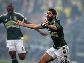 El gol de Valeri no fue suficiente ante la espectacular actuación de Manotas. PortlandTimbers