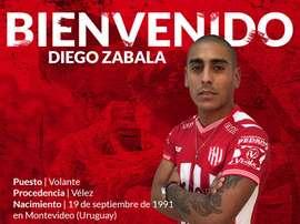Diego Zabala ficha por Unión Santa Fe. ClubAtleticoUnion