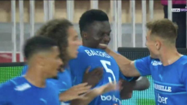 Dieng dio la victoria al Marsella con dos goles. Captura/BeINSports
