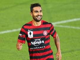 Dimas Delgado, bajo la influencia de jugadores como Iniesta o Ronaldinho. SydneyWanderers