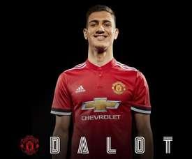 Dalot y su amor eterno al United. ManUtd