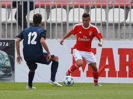 O mais recente talento do Seixal a estrear-se pela equipa principal do Benfica. Twitter