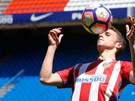 Diogo Jota dejará de ser jugador del Atlético a final de temporada. ClubAtléticodeMadrid