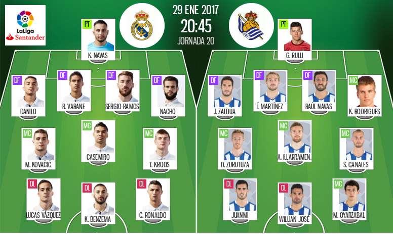 Real Madrid Vs Real Sociedad Live Besoccer