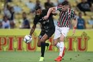 Empate no Clássico carioca com o FLu a ser superior. Twitter @Botafogo