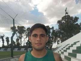 Distaulo, propiedad de River Plate, jugará para Estudiantes de San Luis. Twitter