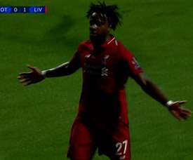 Origi wrapped up the game just minutes from time. Captura/ESPN2